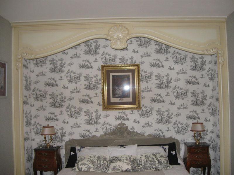 Ma nouvelle chambre en tdj toile de jouy blog - Chambre toile de jouy ...