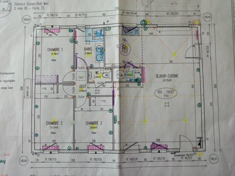 Plan final de la maison notre maison welcome by ph nix for Maison phenix montauban