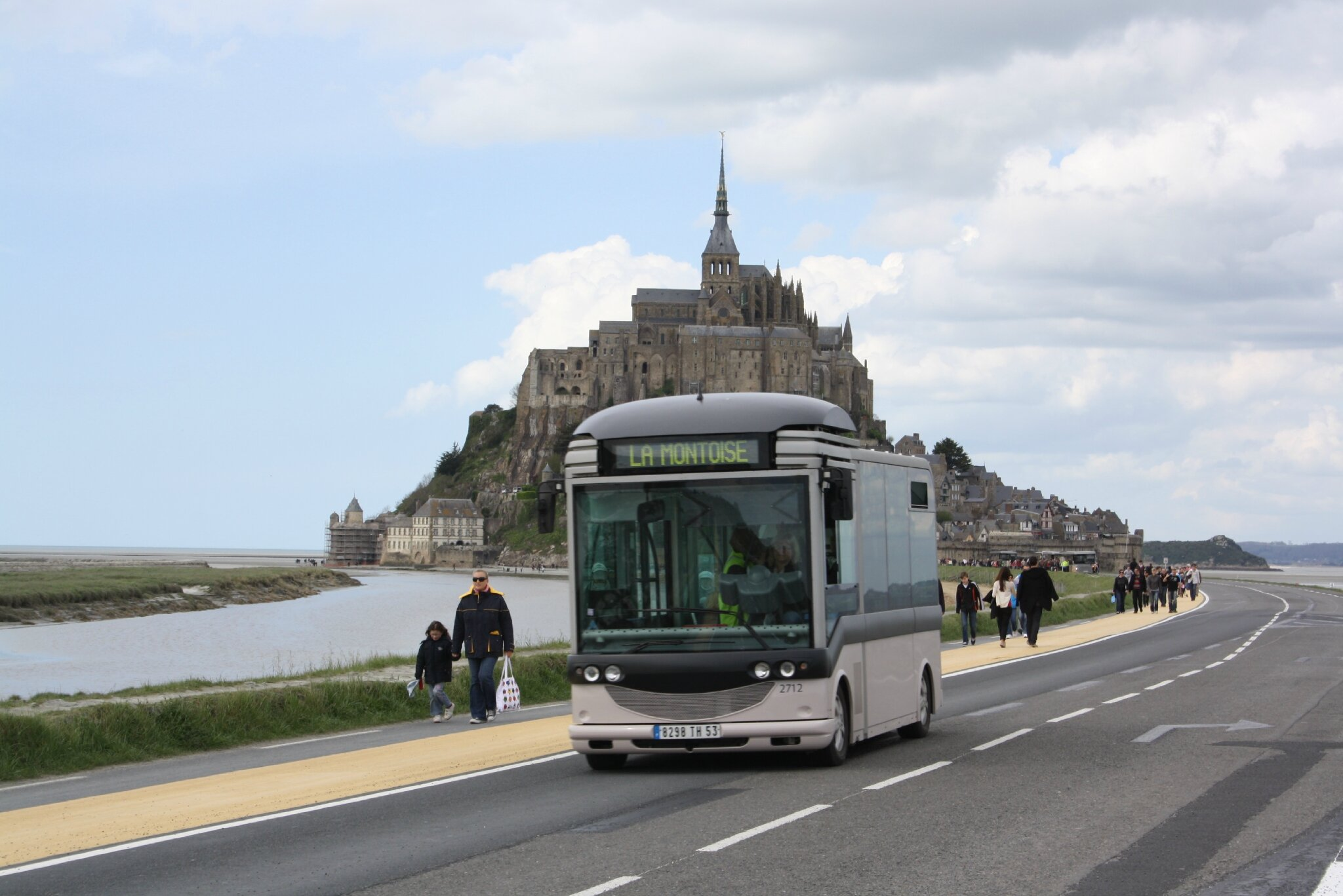 actions et r 233 actions apr 232 s les modifications d acc 232 s au mont michel lundi 3 juin 2013