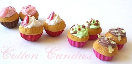new cotton candies cupcakes bo