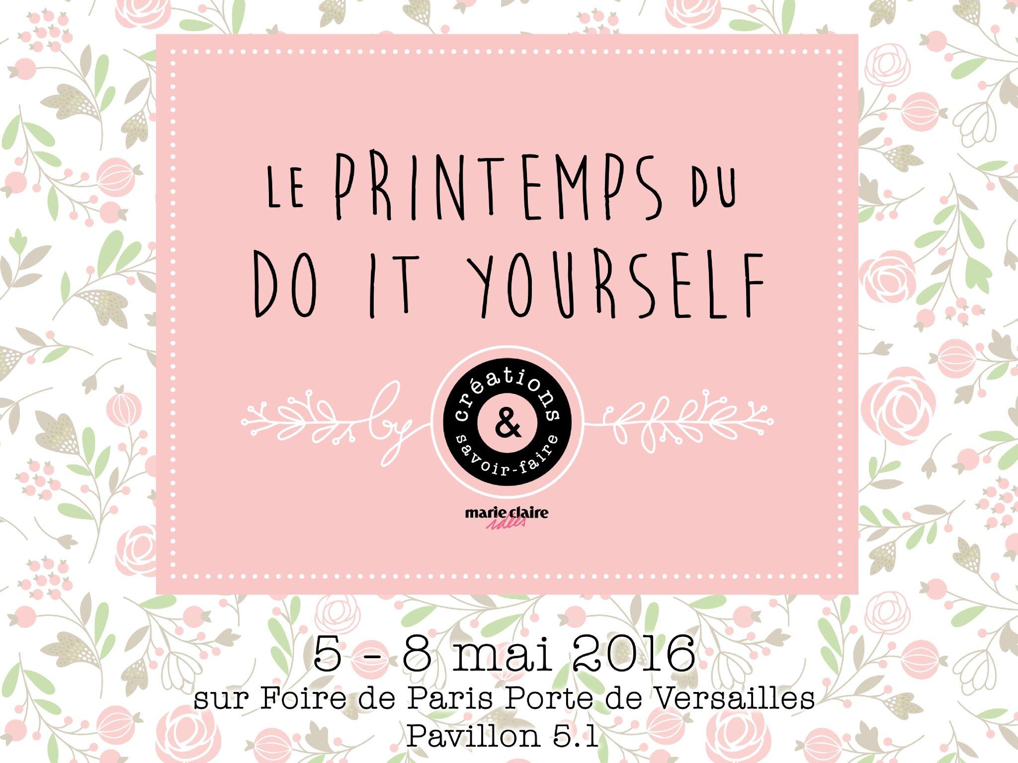 """Atelier """" Badges and co """" au printemps du DIY"""