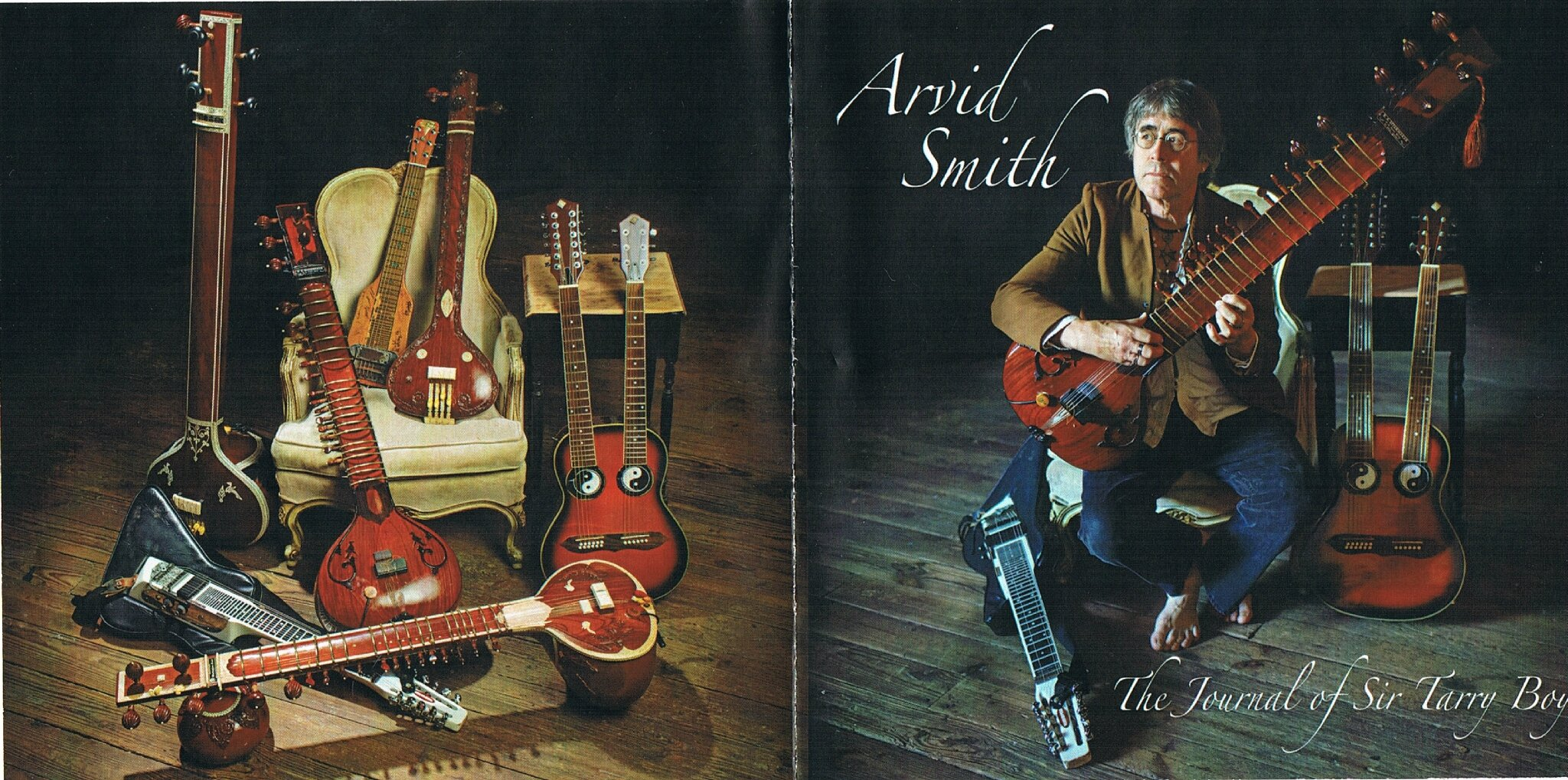 "Arvid Smith new cd ""The Journal Of Sir Tarry Boy"""
