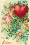 victorian_valentines_cards_two_cherubs_blue_flowers_heart