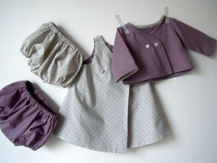 Tenue robe-gilet-bloomer 1-1