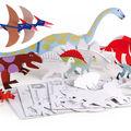 Mes dinosaures en carton