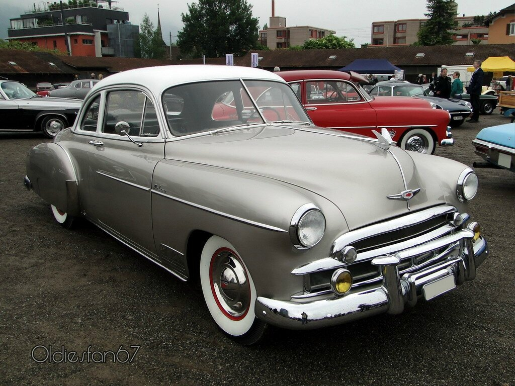Chevrolet Styleline Deluxe Sport Coupe 1949 A