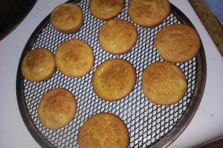 cupcake aprés cuisson