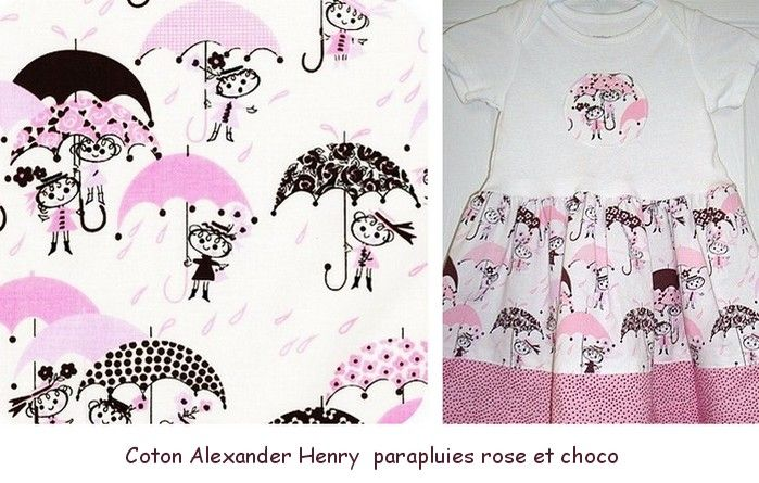 Coton_Alexander_Henry__parapluies_rose
