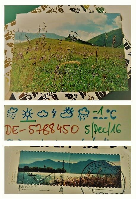 Postcrossing Allemagne