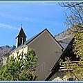 Jolie petite église de montagne