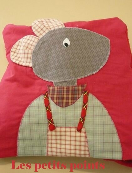 Souris Magic pillow Christiane