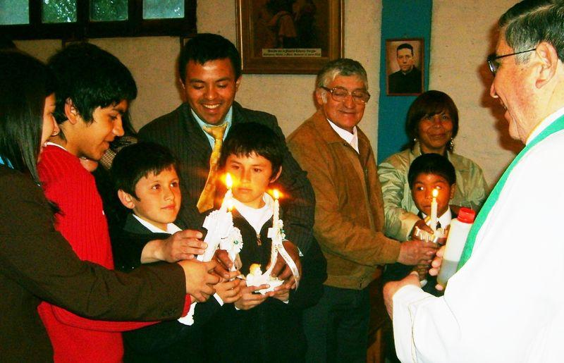 Bautismo de Kevin, Tomás, Matías, Andrés y Jonatan