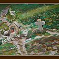 00035 fontaine St samson (pastelcard 30x40)