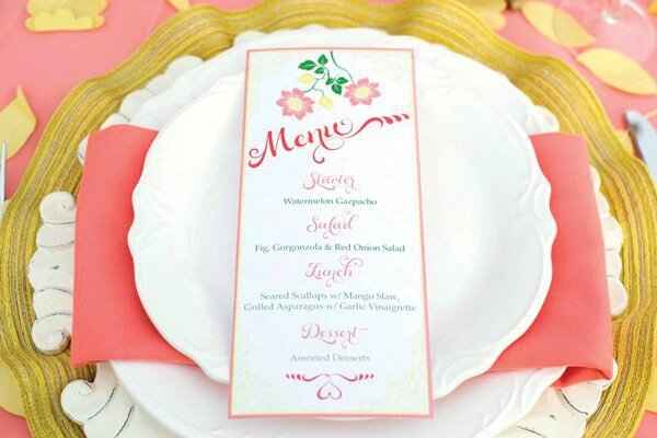 bridal-shower-menu