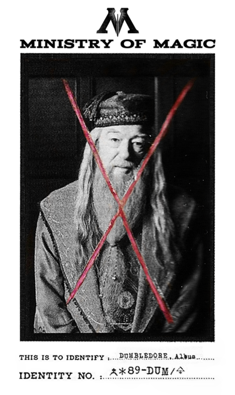 Muggle-Born Registration Dumbledore (1)