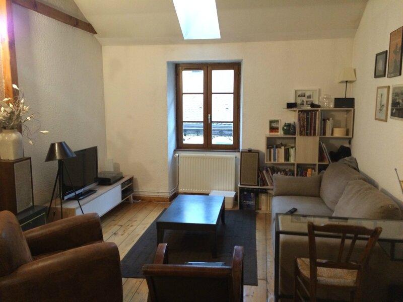 T3 duplex annecy vieille ville - Salon sur cour annecy ...
