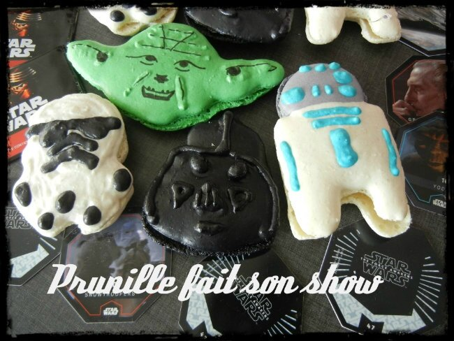 macarons star wars prunillefee