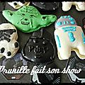 Macarons star wars...