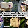 Ma version du sac petits riens (concours inside)