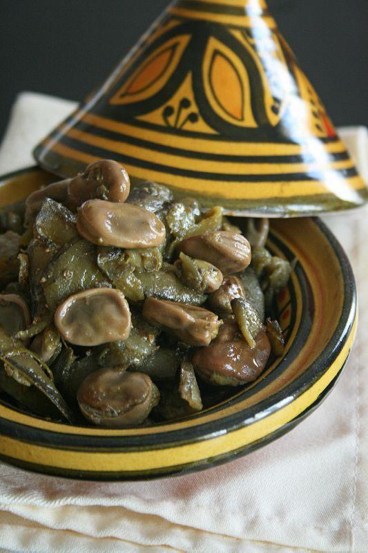 salade de fèves à la marocaine : cuisson vapeur au cumin et citron