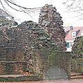 Burg Kerpen à Huttigweiler (Sarre)