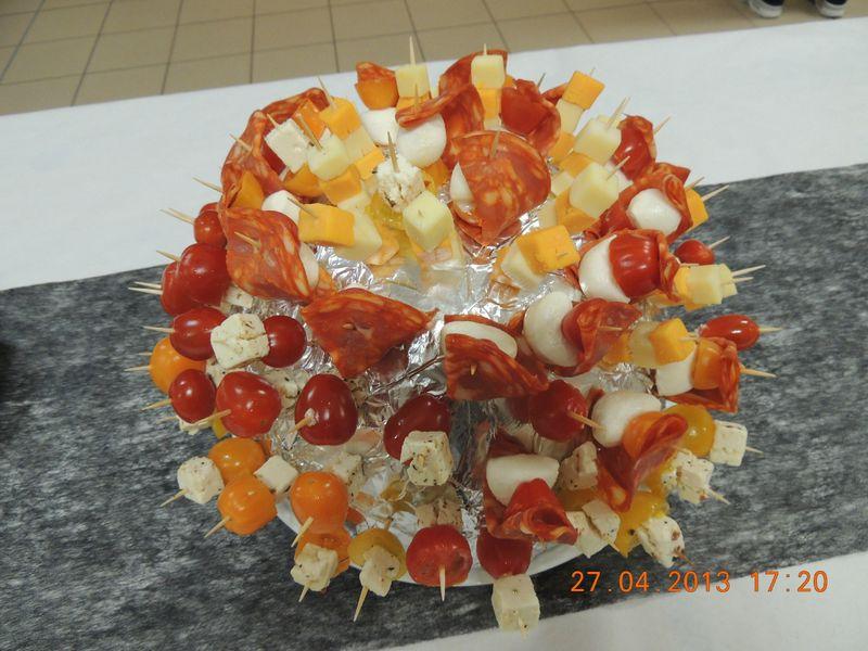 Deco de plat celineverodu77 for Decoration de plat avec des legumes