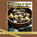 Sot l'y laisse de dinde au cidre & pommes(fruit)