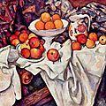 Nature morte d'après paul cézanne