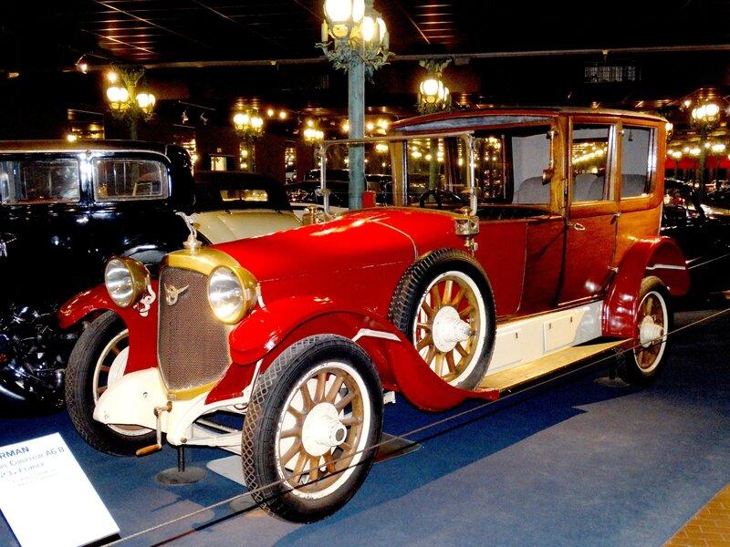 FARMAN type A6 B coupé chauffeur 1923 Mulhouse (1)