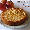 Moelleux aux pommes vanillé