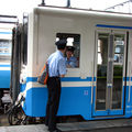 JR キハ32 untenshû, Matsuyama eki