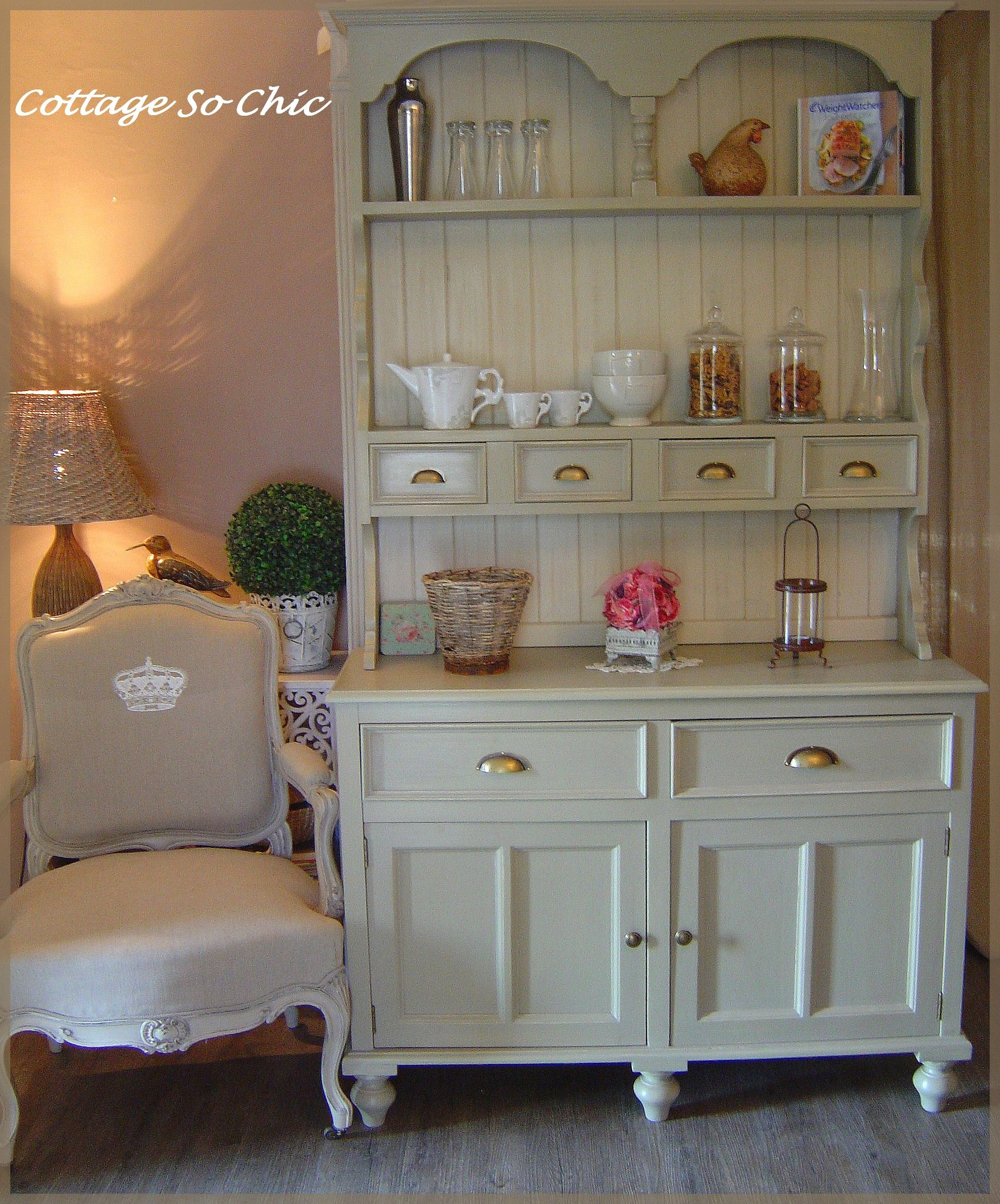 Buffet campagne so chic cottage so chic for Meuble chambre style campagne