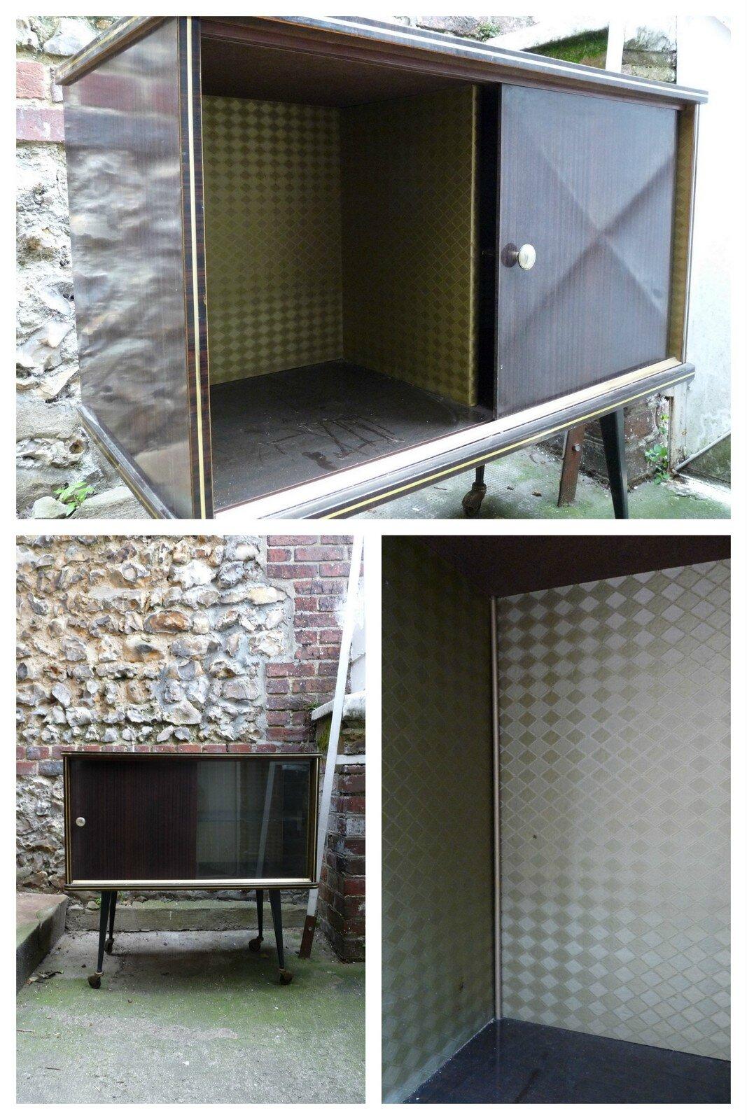 Relooker un meuble bar en formica un rien une id e - Idee pour repeindre un meuble ...