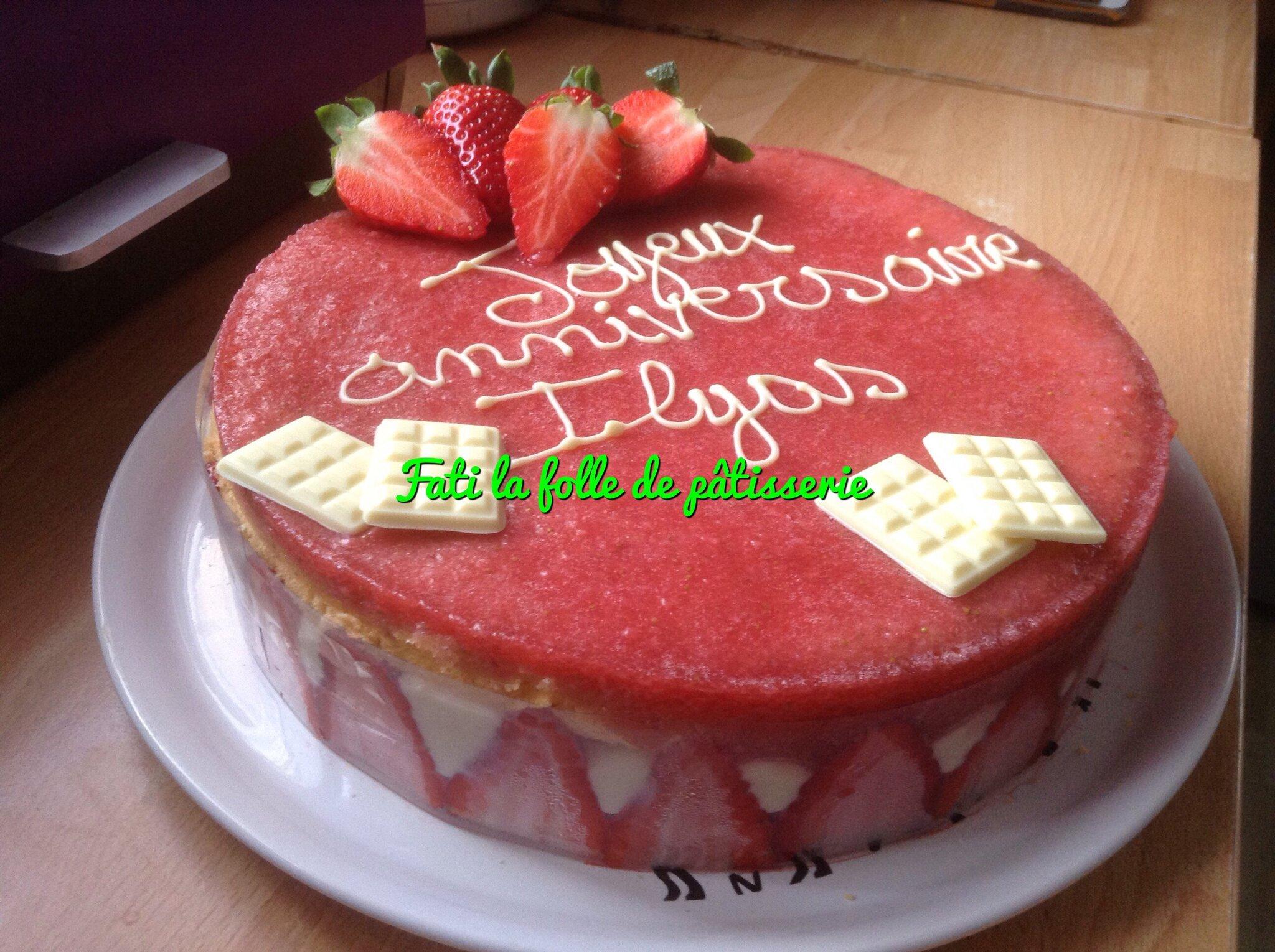 Mon véritable fraisier