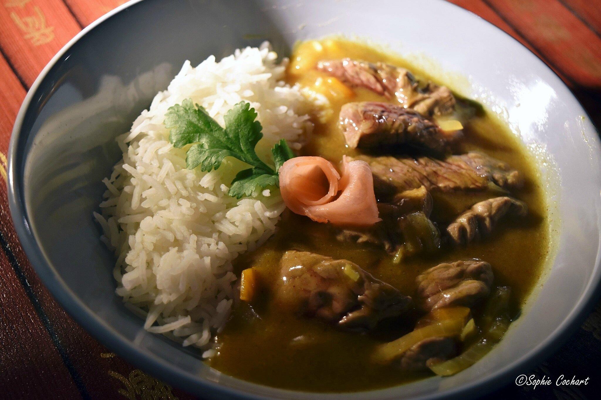 boeuf au curry japonais alors c 39 est bon. Black Bedroom Furniture Sets. Home Design Ideas