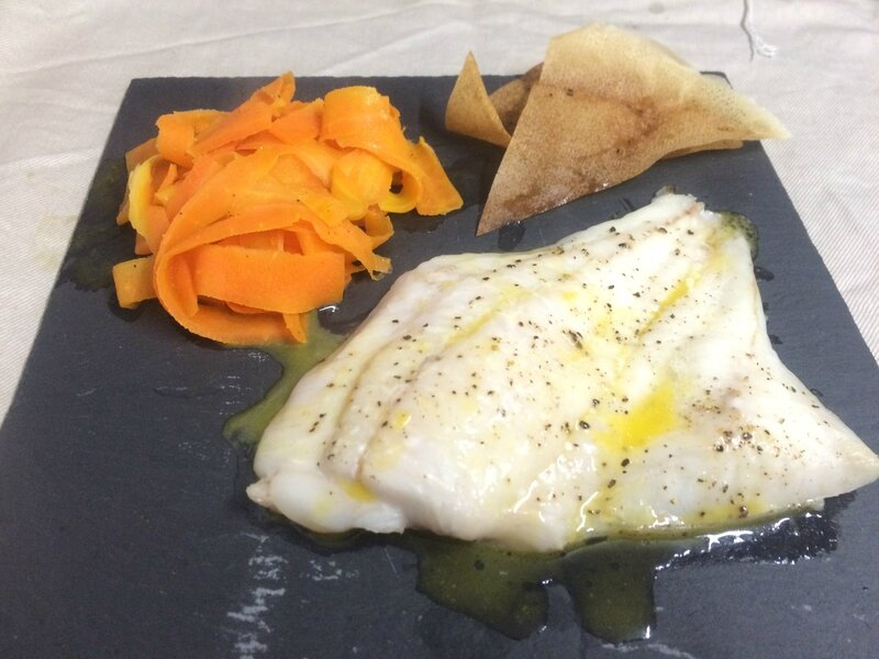 Filet de turbot au jus de mandarine (5)