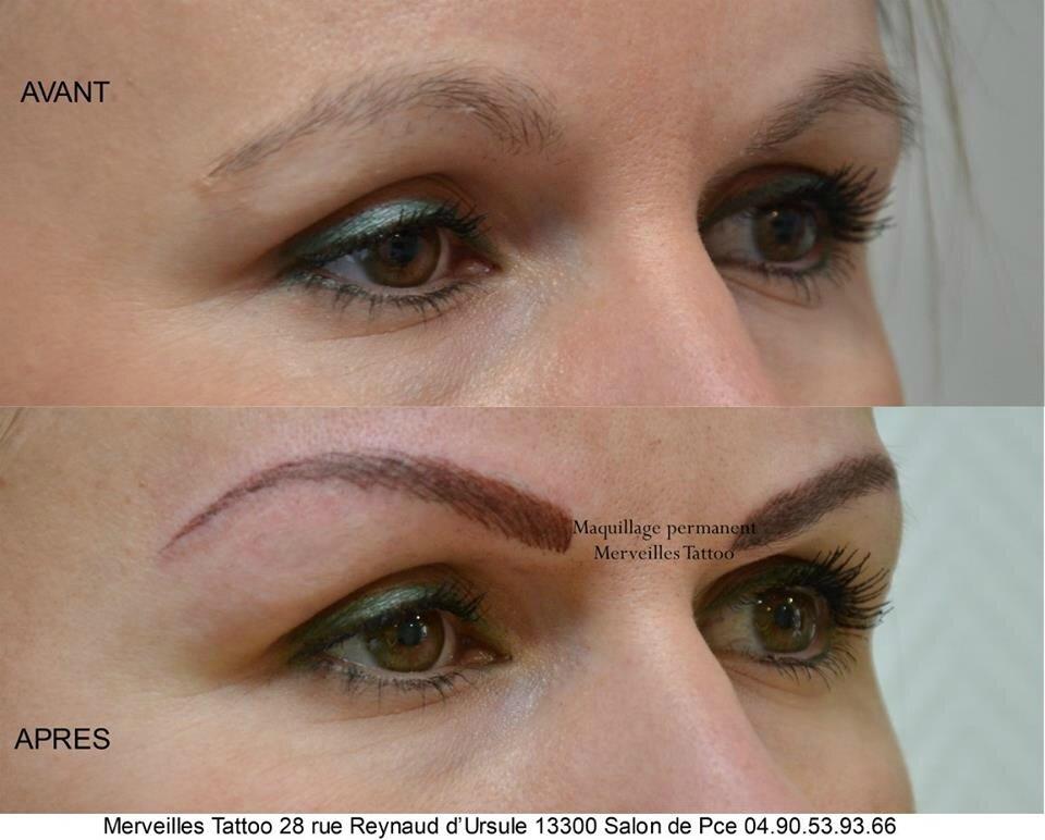 maquillage permanent, sourcil, salon de provence, bouche du rhone, pelissanne