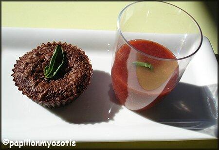 Fondant chocolat soupe fraise Salez Poivrez_2