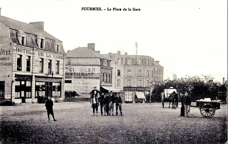 FOURMIES-Place de la Gare