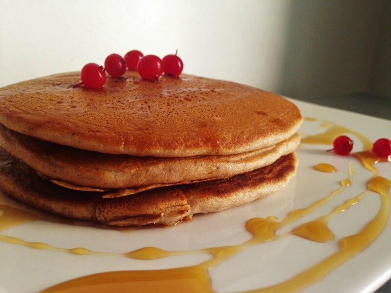 pancakes bananes, yaourt, chataîgnes (3)