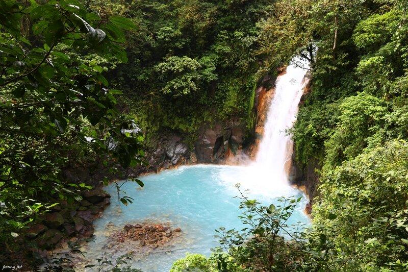 cascade rio celeste tenorio