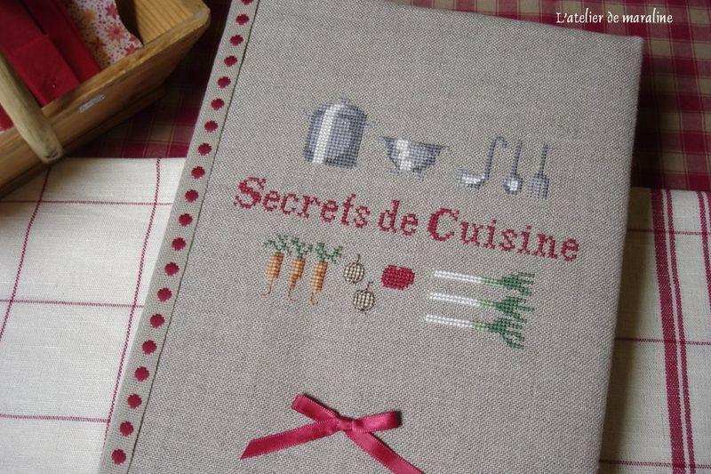 Secrets de cuisine l 39 atelier de maraline - Cahier de cuisine a remplir ...