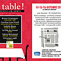 expo à table!