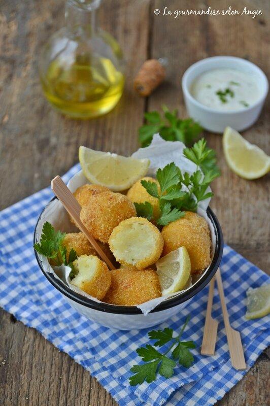 croquettes pomme de terre chou fleur vegan sans gluten
