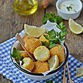 Croquettes de pommes de terre & chou-fleur #vegan #sans gluten