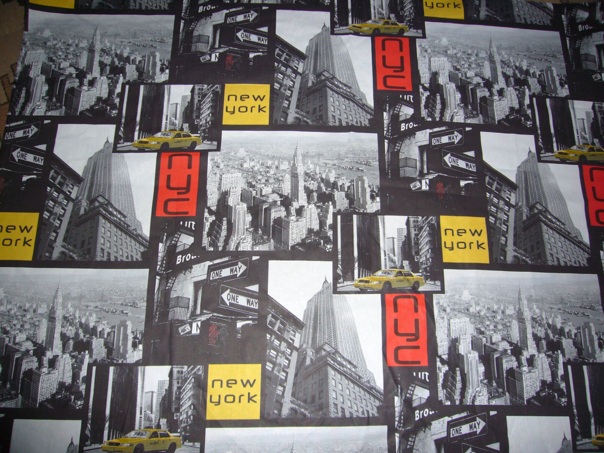 Tissu new york tissu new york sur enperdresonlapin - Store imprime photo ...