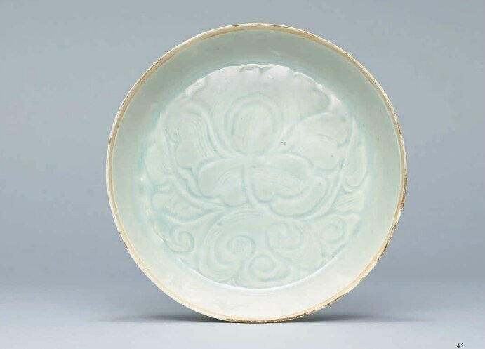 A carved Qingbai washer, Southern Song Dynasty (1127-1279)