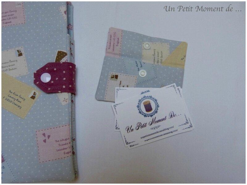 Pochette cartes de visite