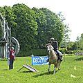 balade à cheval médiévale - Abbaye de Hambye (248)