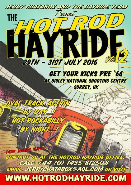 29 au 31 juillet Hayride Hot-Rod (Angleterre)